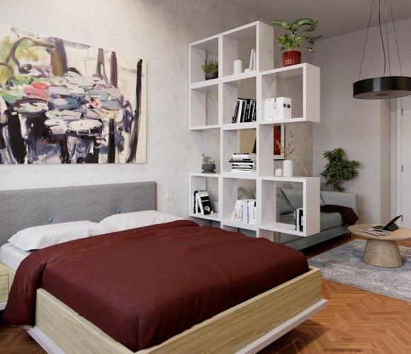 Prodej bytu 2+1, 59 m2 - Sokolovská, Praha 8
