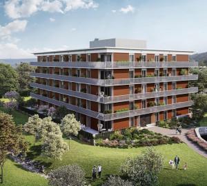 Prodej bytu 1+kk, 35 m2, RIVIÉRA MODŘANY, Praha 12, Vorařská