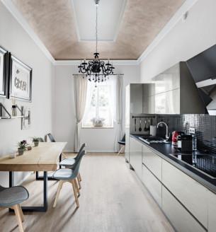Pronájem bytu 1+1, 62 m2 - Francouzská, Praha 10