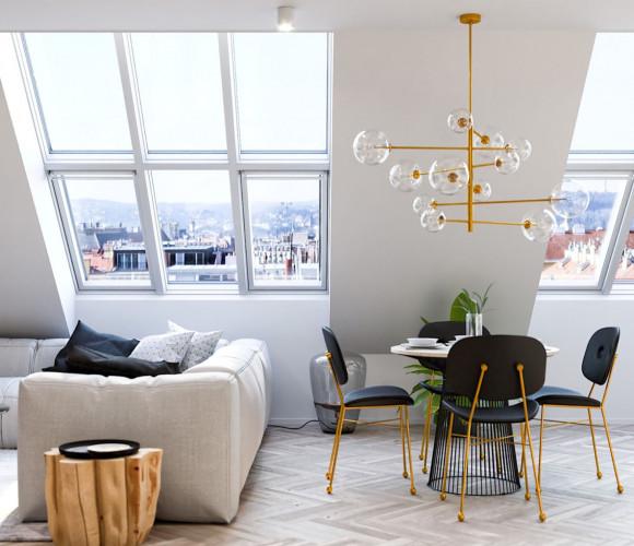 Prodej bytu 2+kk, 101 m2 - U Kanálky, Královské Vinohrady, Praha 2