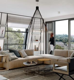 Prodej bytu 6 a více, 246 m2 - Pod Havránkou, Rezidence Troja, Praha 7, Pod Havránkou