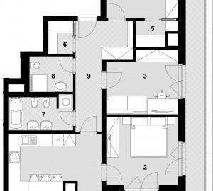 Prodej bytu 4+kk, 107 m2, Park Zličín, Praha 5