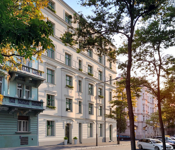 Prodej bytu 1+kk, 37 m2 - Mánesova, Královské Vinohrady, Praha 2