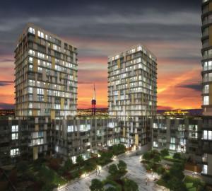 Pronájem bytu 1+kk, 42 m2 - Olšanská, Praha 3