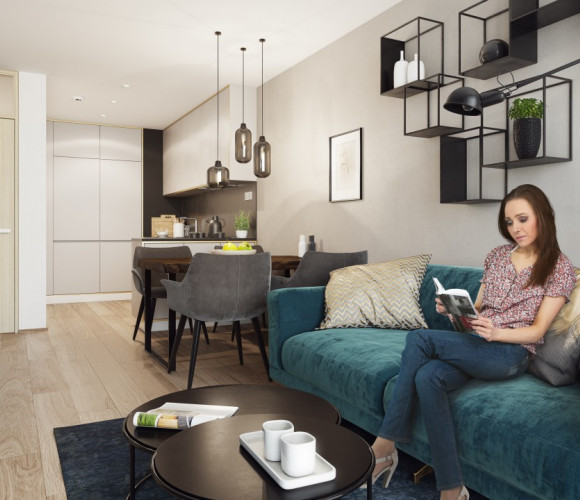Prodej bytu 2+kk, 51 m2 - Benkova, Praha 4