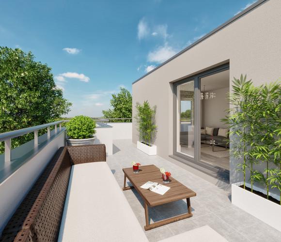 Prodej bytu 2+kk, 40 m2 - Jiráskova, Unhošť