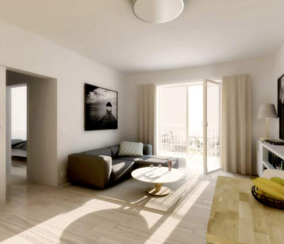 Prodej bytu 1+kk, 24 m2, Praha 9