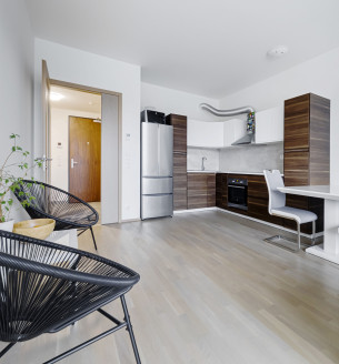 Pronájem bytu 3+kk, 98 m2 - Sanderova, Praha 7
