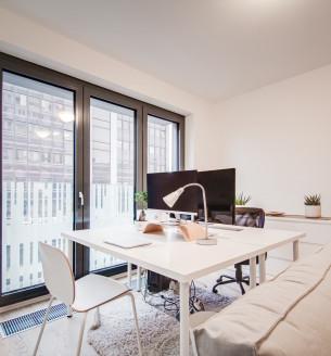 Prodej bytu 1+kk, 48 m2 - Olšanská, Praha 3