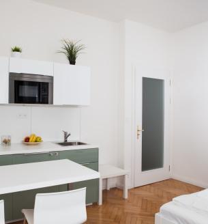 Pronájem bytu 1+kk, 27 m2 - Šimáčkova, Praha 7