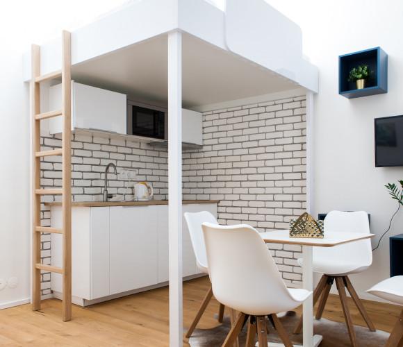 Prodej bytu 1+kk, 25 m2 - Orelská, Praha 10