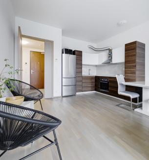 Pronájem bytu 2+kk, 58 m2 - Sanderova, Praha 7