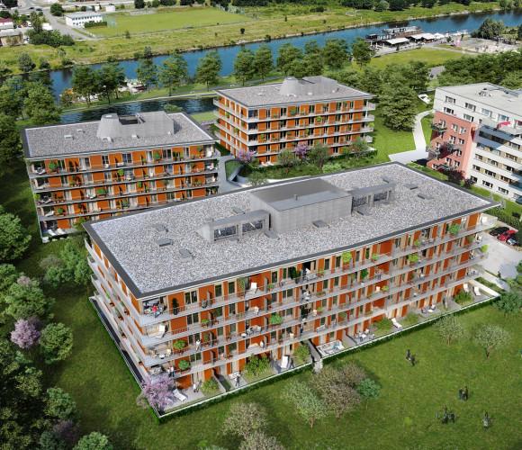 Prodej bytu 2+kk, 55 m2, RIVIÉRA MODŘANY, Praha 12, Vorařská