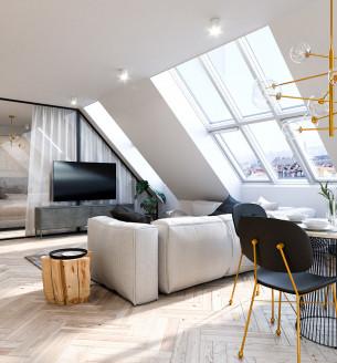 Prodej bytu 2+kk, 101 m2 - Mánesova, Královské Vinohrady, Praha 2