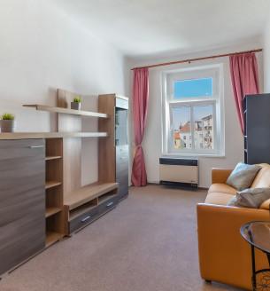Pronájem bytu 2+1, 41 m2 - Norská, Praha 10
