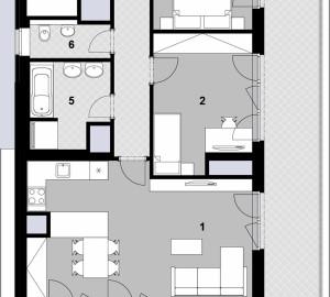Prodej bytu 3+kk, 95 m2, Javorová čtvrť II., Praha 10