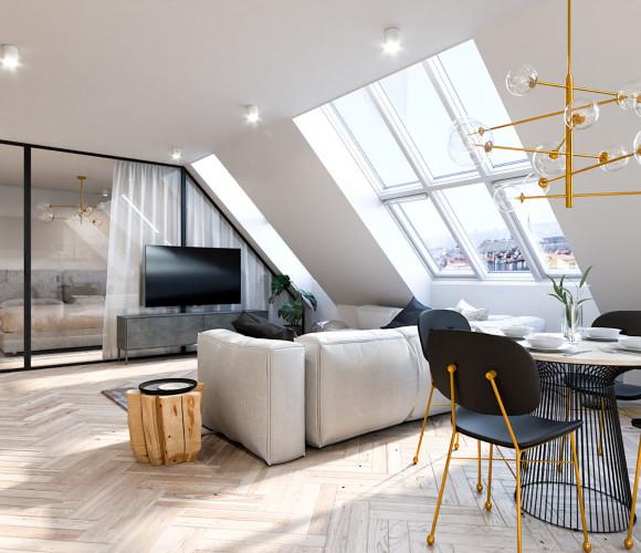 Prodej bytu 2+kk, 80 m2 - U Kanálky, Královské Vinohrady, Praha 2