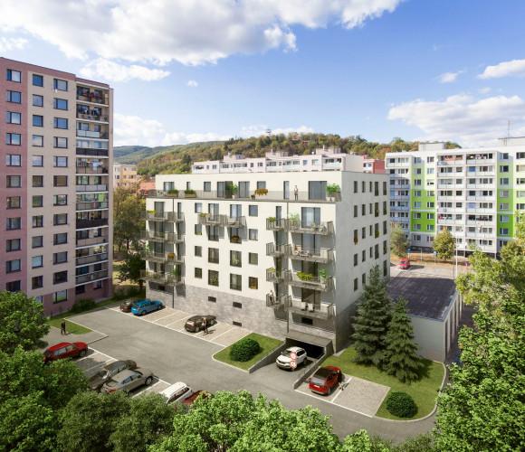 Prodej bytu 2+kk, 56 m2 - Na Náhonu, Beroun