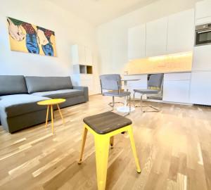 Pronájem bytu 1+kk, 32 m2 - Legerova