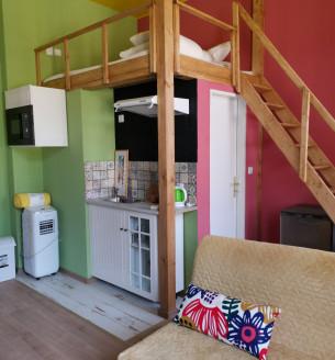 Pronájem bytu 1+kk, 10 m2 - Vítkova, Praha 8