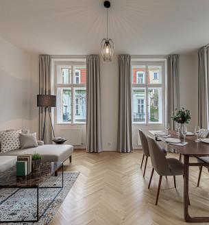 Pronájem bytu 4+1, 133 m2 - Gotthardská, Praha 6