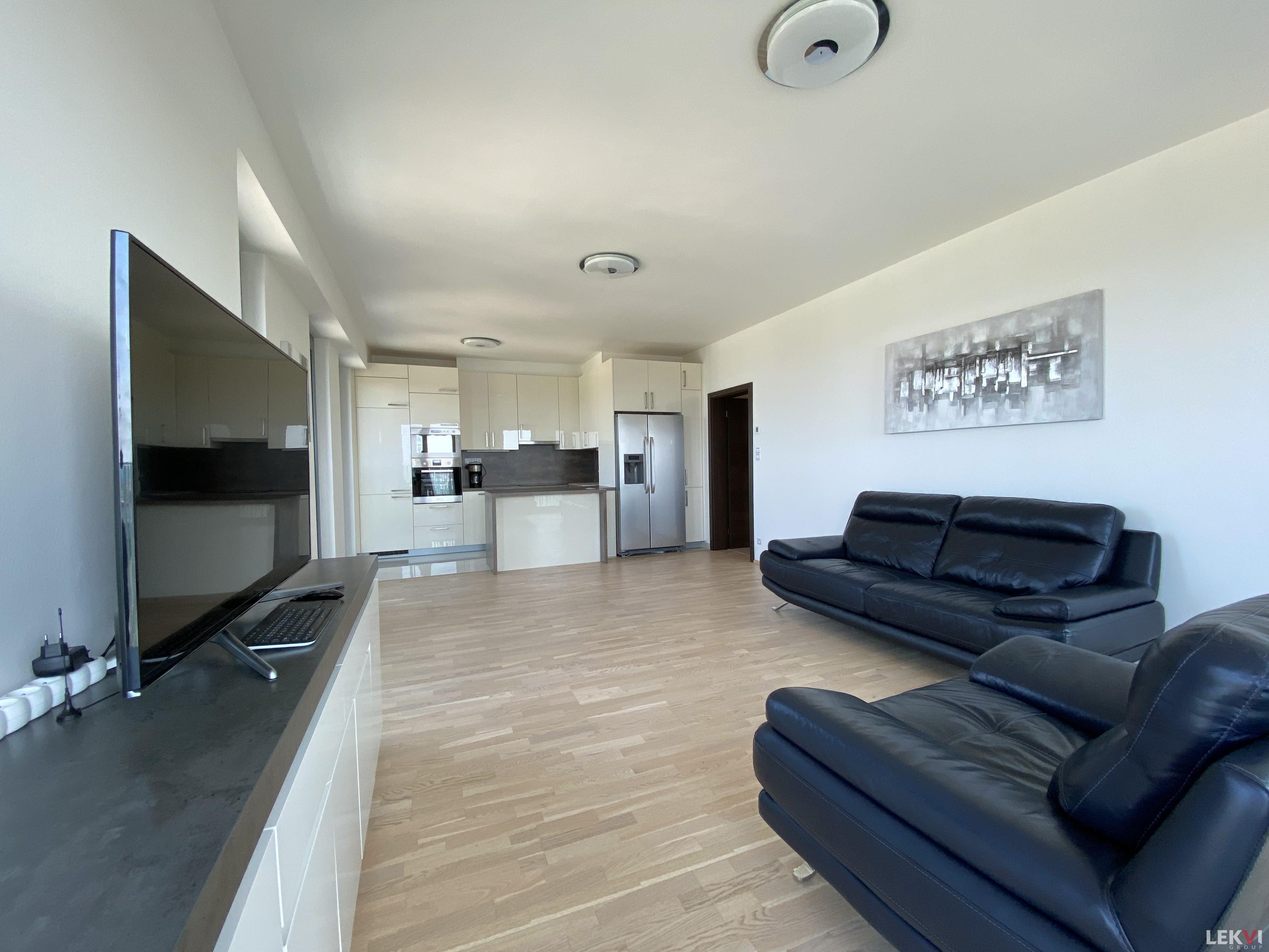 Pronájem bytu 4+kk, 124 m2 - Olšanská, Praha 3
