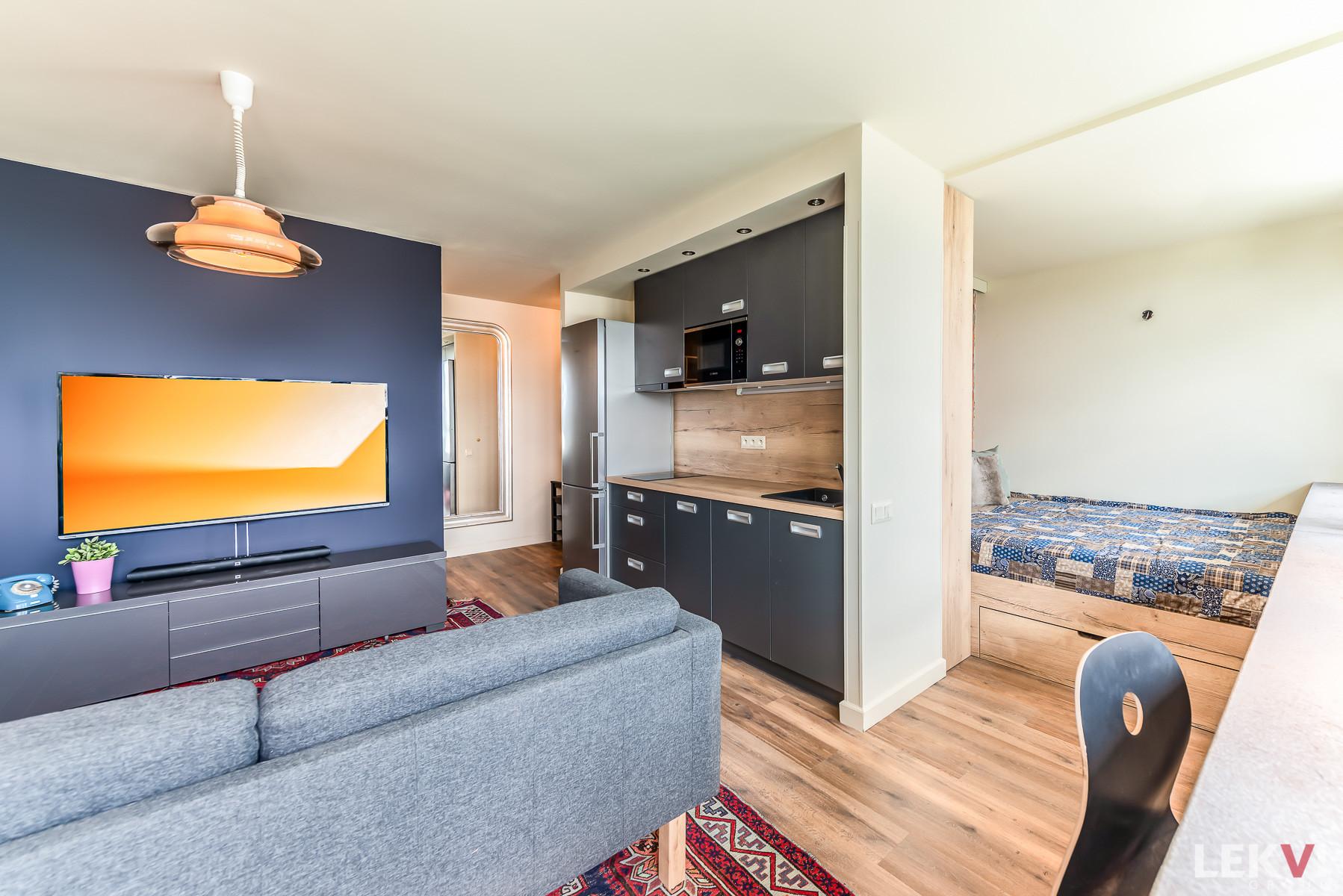 Prodej bytu 1+kk, 39 m2 - Paláskova, Praha 8